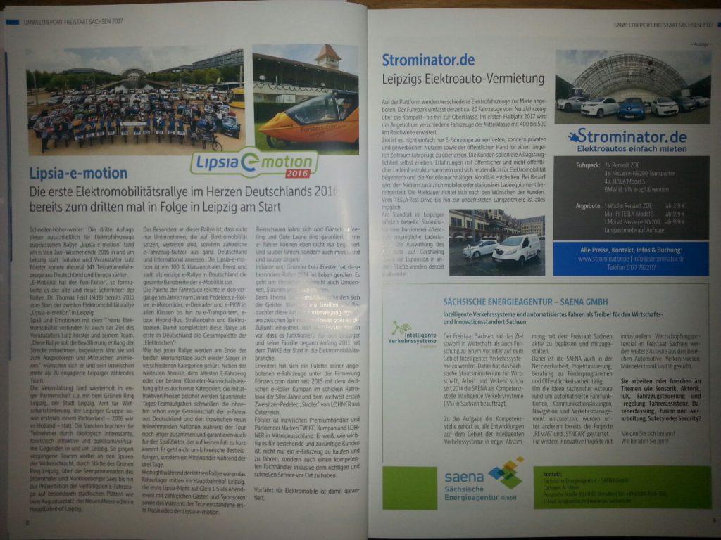 Strominator im Umweltreport Sachsen 2017