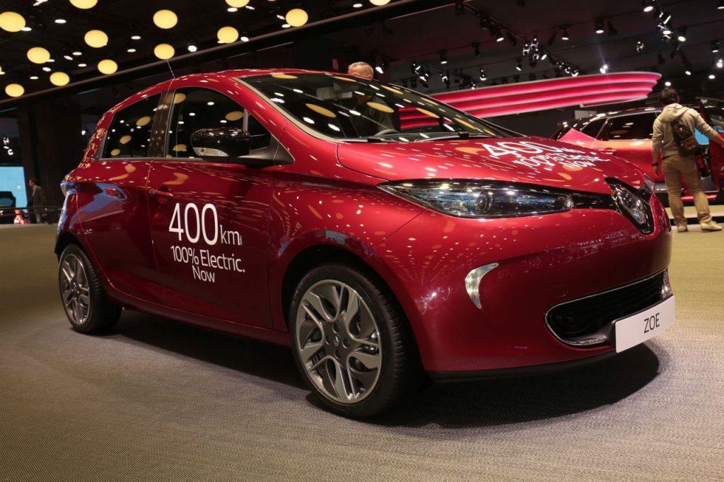 Renault ZOE - Elektroauto im Fuhrpark der Elektroauto-Vermietung nextmove
