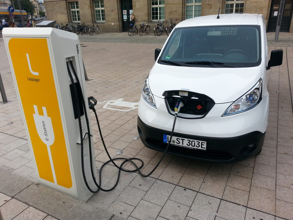 Nissan e-NV200 40kWh (2018) Ladestation