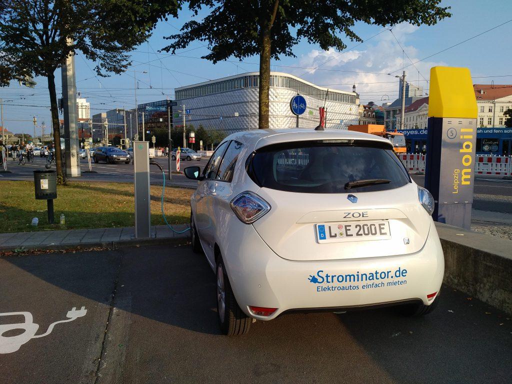 Strominator Leipzig Elektroautos einfach mieten Förderung Zoe