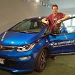 Strominator - Elektroautos einfach mieten Opel Ampera-e mieten Übergabe
