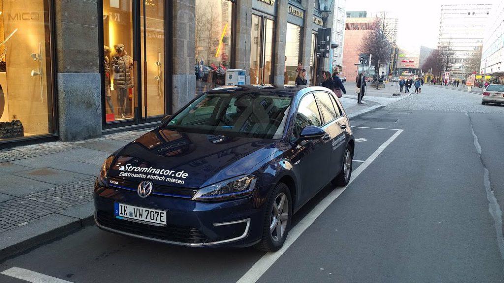 VW e-Golf E-Auto mieten Strominator