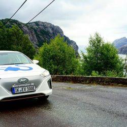 Strominator Hyundai Ioniq Elektroautos einfach mieten Norwegen kostenloser TEST DRIVE