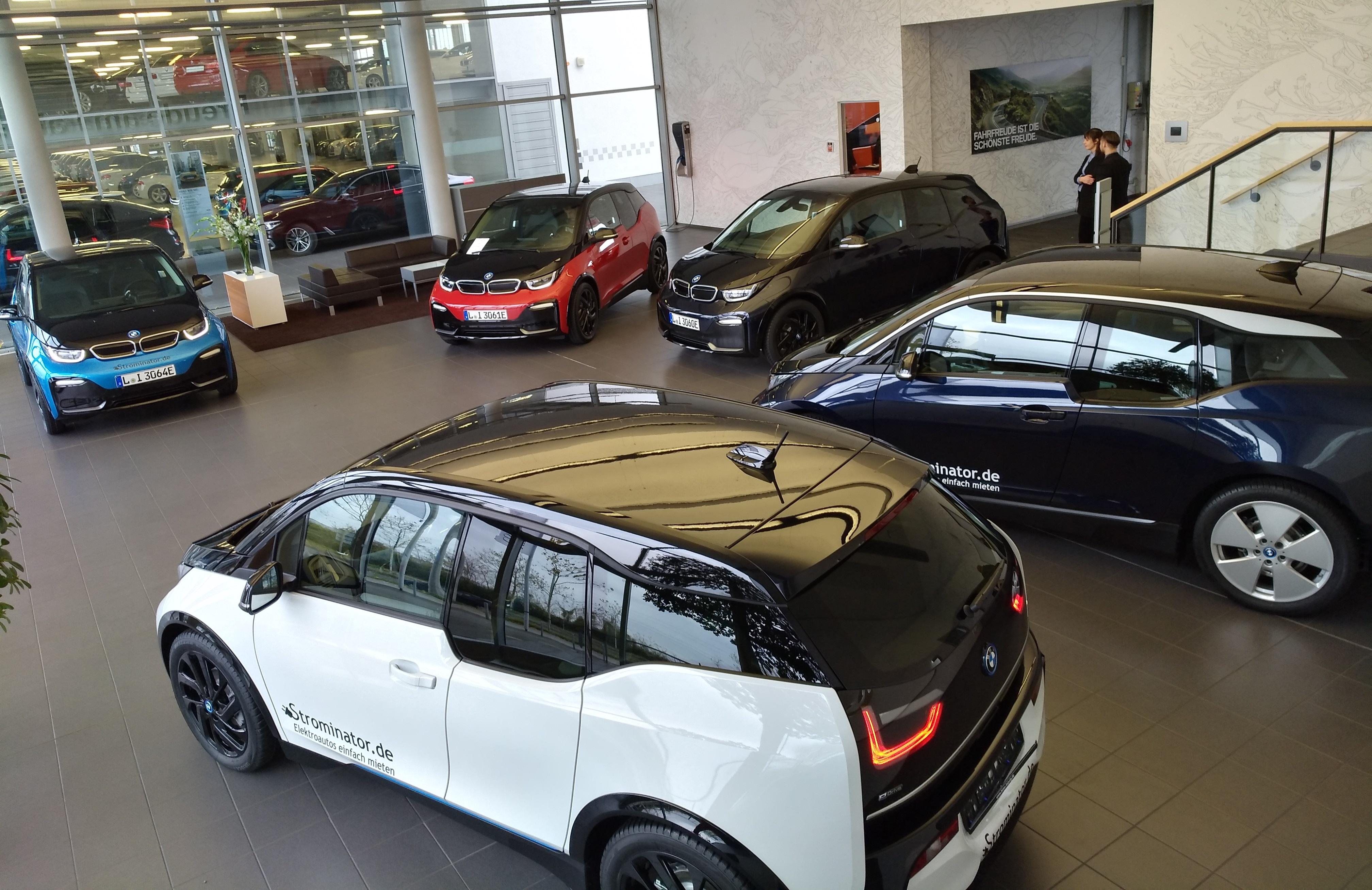 Einer von fünf BMW i3s die an Strominator übergeben wurden