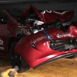 Strominator Elektroautos einfach mieten Unfall Renault Zoe ZE40 Batterie