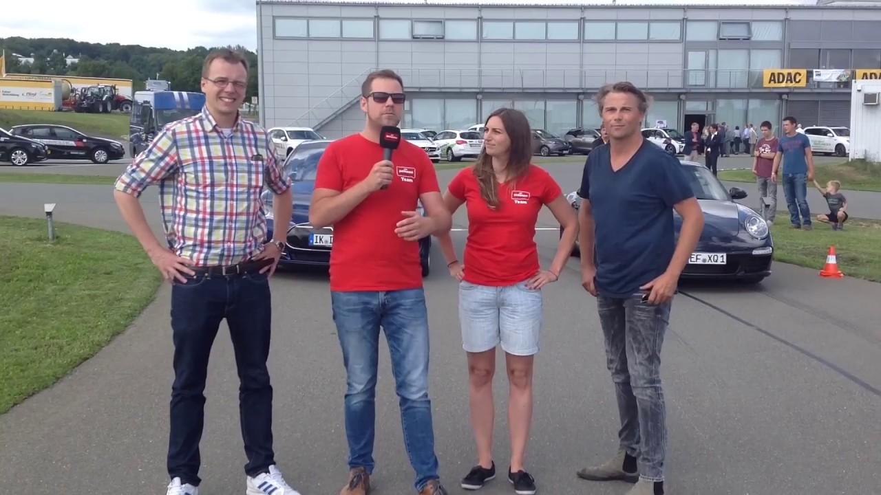 Porsche gegen Tesla Radio Thüringen Beitrag Strominator Drag Race Porsche gegen Tesla