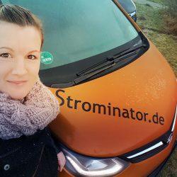Strominator - Opel Ampera-E als Mietwagen mit Mieter