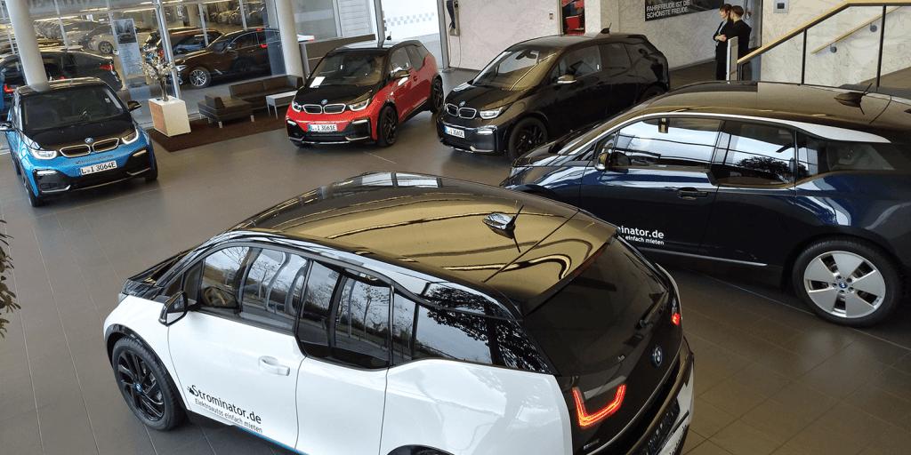 Strominator BMW i3s Elektroauto