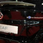 Nissan Leaf 2 hinten zero emission