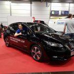 Nissan LEAF 2 Probesitzen außen