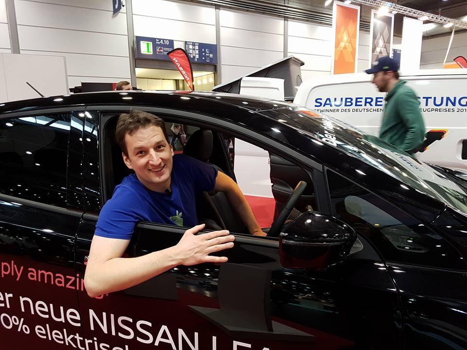 Nissan LEAF 2 Probesitzen