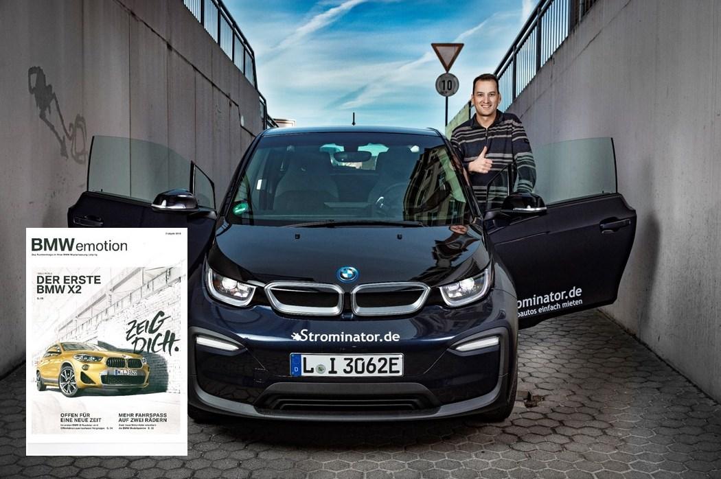 BMWemotion Kundenmagazin BMW i3s Strominator im Interview