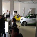 Pop up Laden smart cabrio - Elektroautos mieten