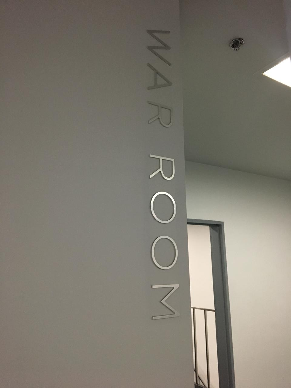 War room bei Tesla