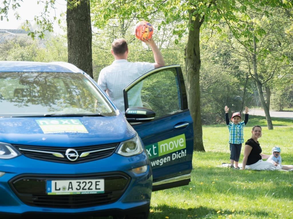 Opel ampera-E bei nextmove