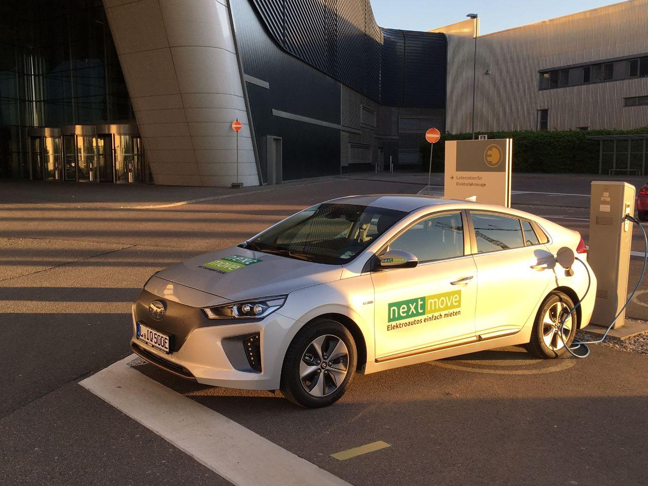 Hyundai IONIQ mieten bei nextmove.de