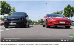 Sion meet Tesla Model 3