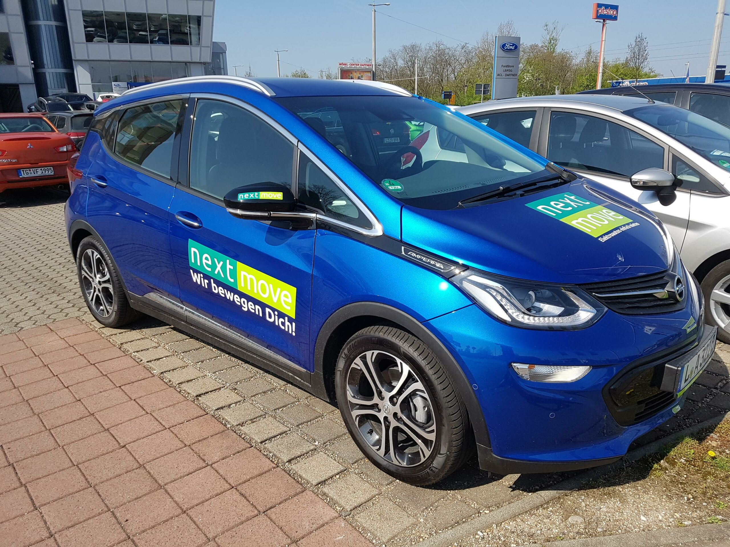 Opel Ampera-E Elektroauto mieten