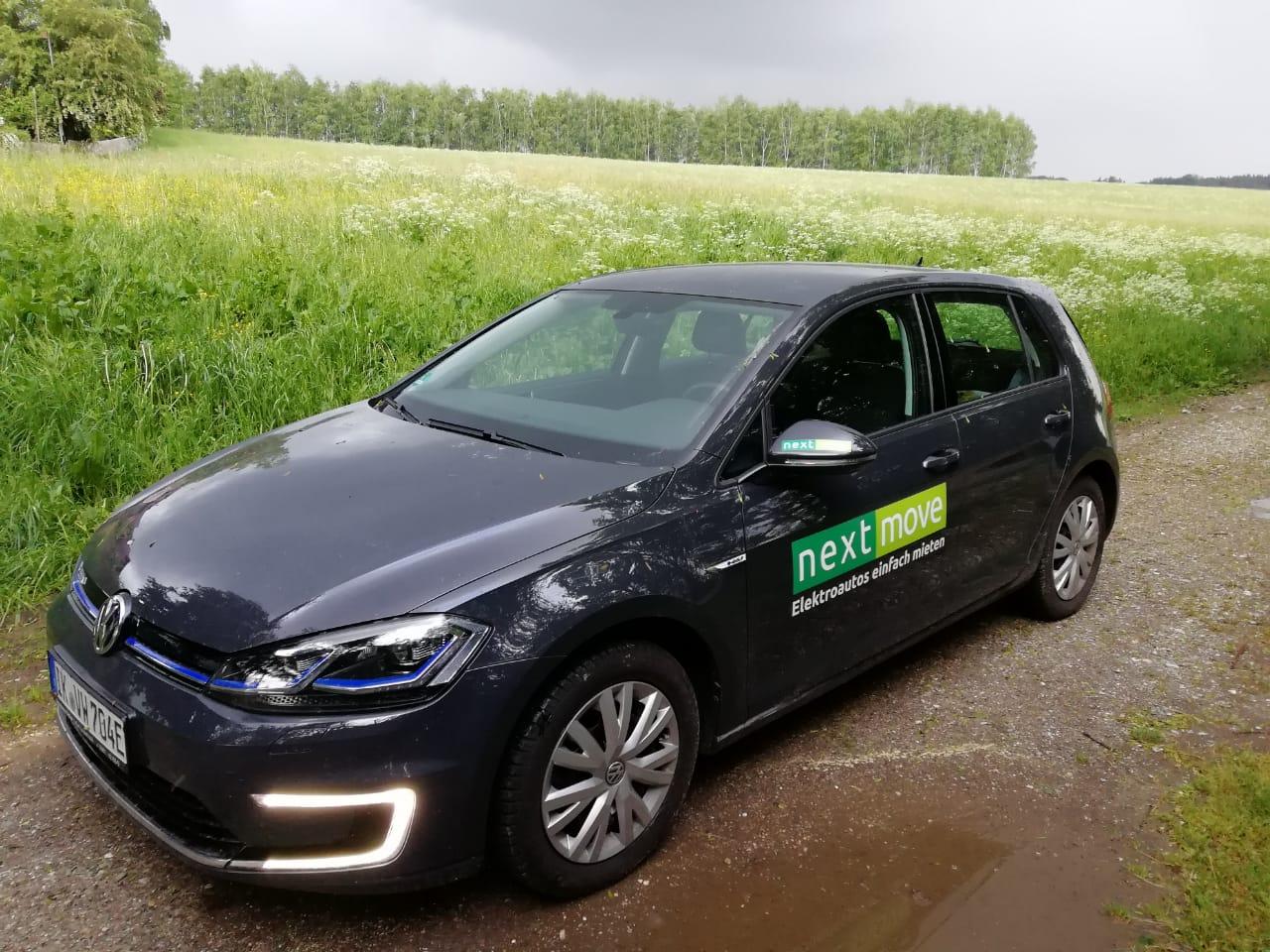 Elektroauto nextmove VW e-Golf mieten