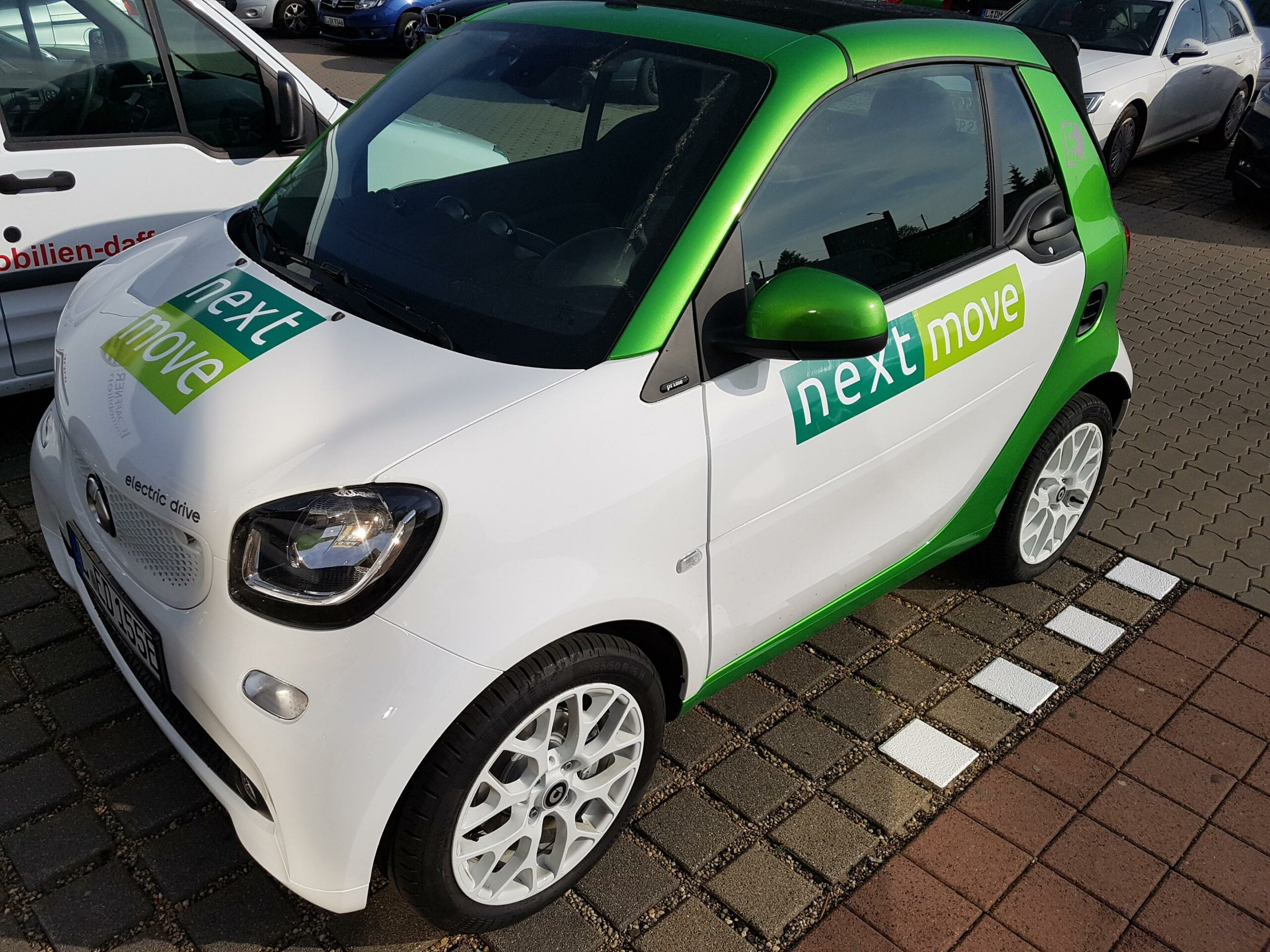 nextmove Elektroauto smart EQ mieten