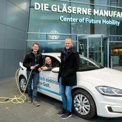 nextmove Startup ChargeX Team eGolf Gläserne Manufaktur VW Dresden www.nextmove.de
