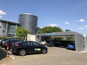 nextmove eMobility Station Gläserne Manufaktur VW Dresden www.nextmove.de