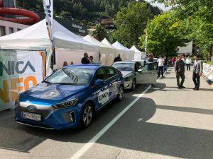 IONICA - 24h Endurance Startaufstellung, Hyundai IONIQ blau www.nextmove.de