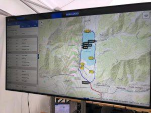 IONICA GPS Tracking 24h Endurance auf Großbildschirm www.nextmove.de