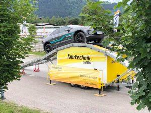 IONICA - Jaguar I-Pace ÖAMTC Parkour www.nextmove.de