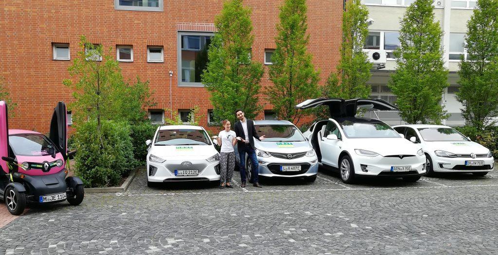 Maria Schönbach (nextmove) und Laurin Hahn (Sono Motors)