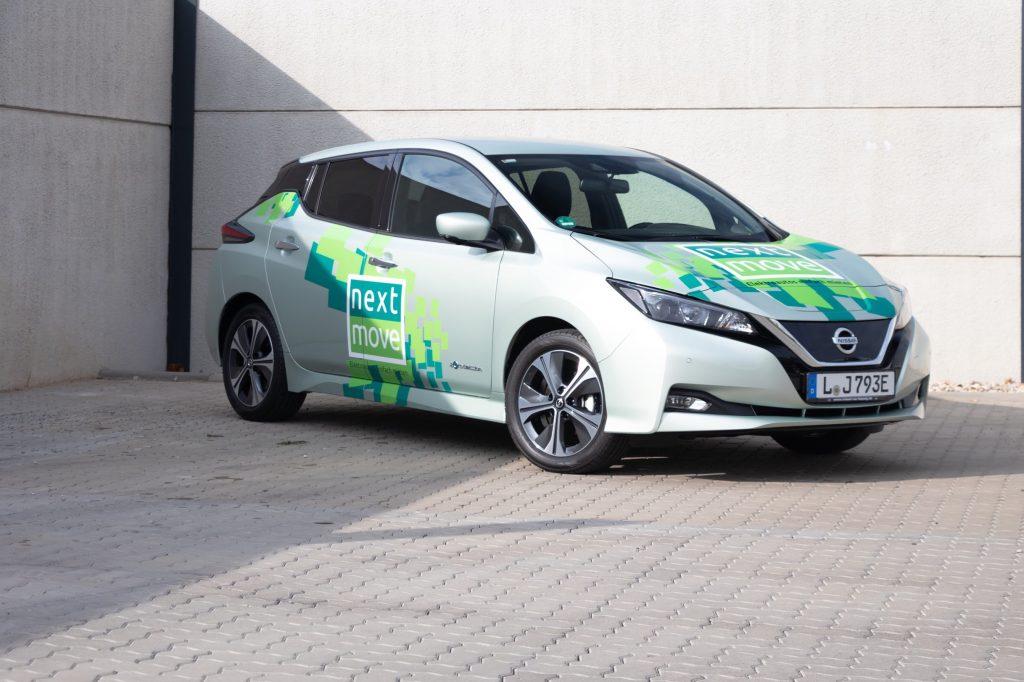 Nissan Leaf E-Auto bei nextmove mieten