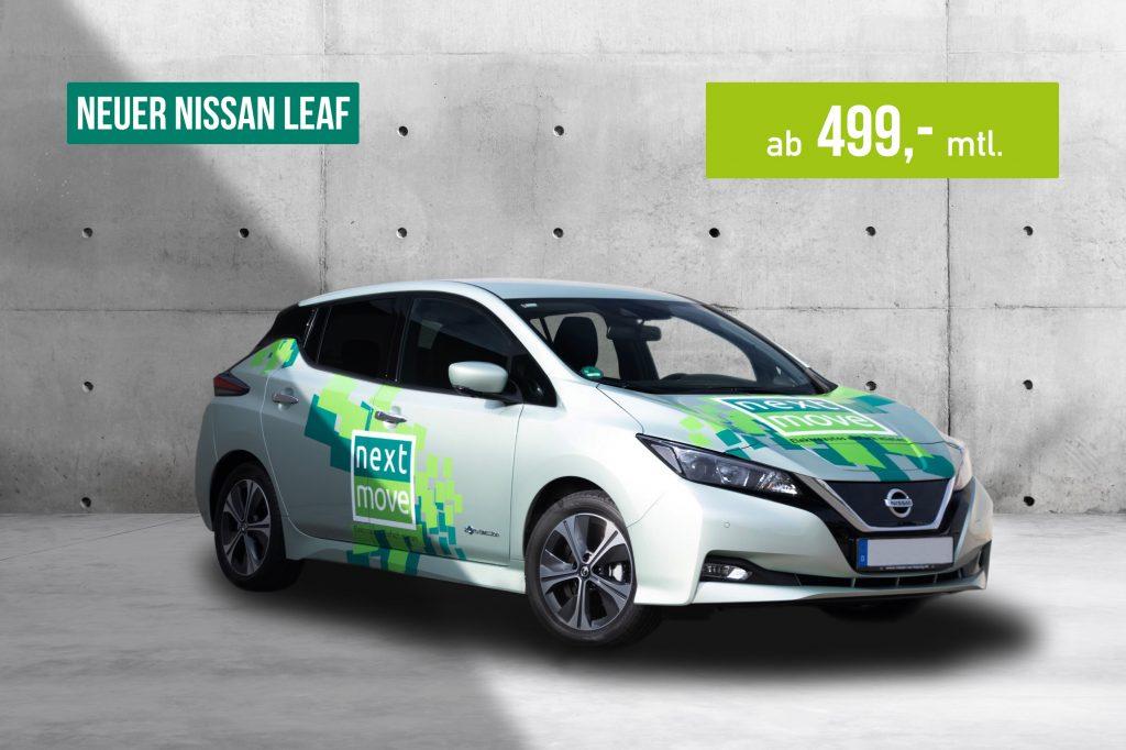 E-Auto Abo nextmove Nissan Leaf II