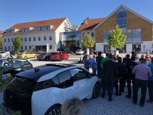 nextmove eRUDA Ausfahrt Wildpoldsried Energiedorf BMW i3 www.nextmove.de