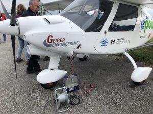 nextmove eRUDA Bad Tölz Elektroflugzeug Ultraleicht C52 www.nextmove.de