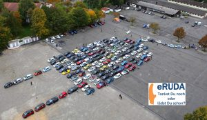 nextmove eRUDA Weilheim Luftbild Elektroautos Stecker www.nextmove.de
