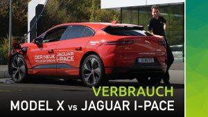 nextmove Jagur I-PACE vs. Tesla Model X