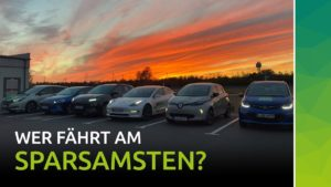 nextmove -Elektroauto Vergleichsfahrt