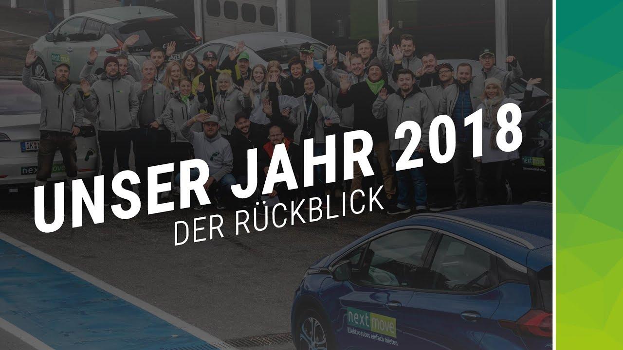 nextmove - Elektroautos einfach mieten Jahresrückblick 2018