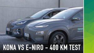 Kia e-Niro vs Hyundai Kona- nextmove testet die koreanischen Brüder