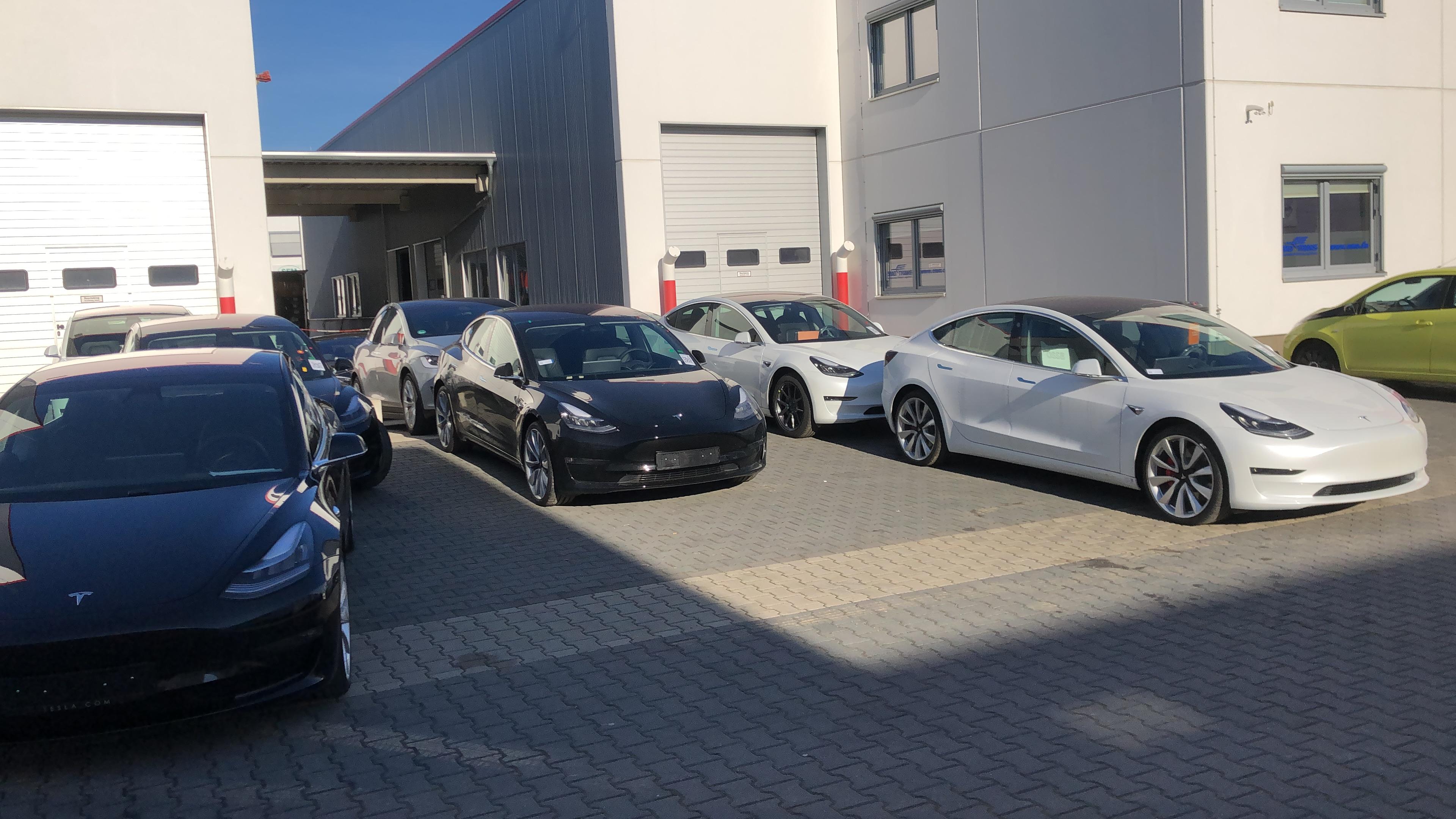 nextmove Tesla Model 3 Einflottung