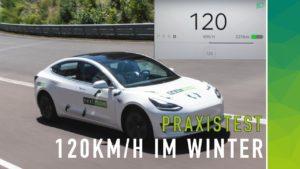 nextmove Winterreichweite bei 120 kmh mit Sommerreifen
