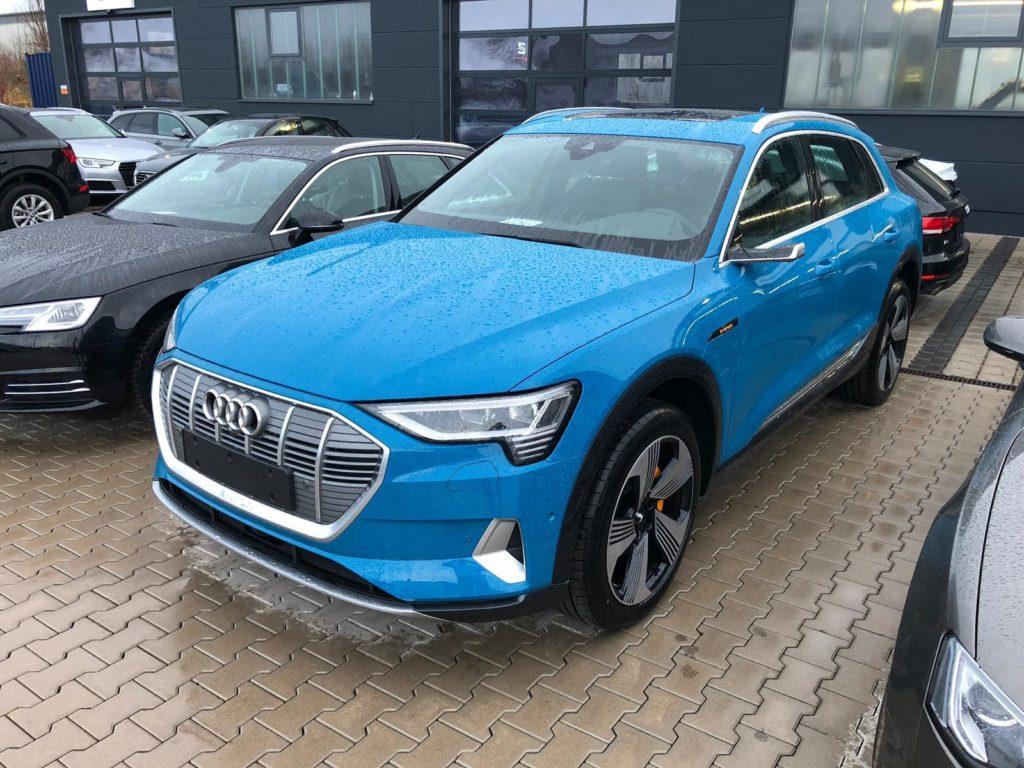 Audi e-tron aus dem nextmove-Fuhrpark