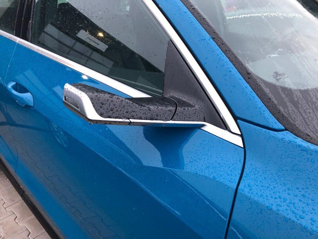 Details des Elektroautos von Audi