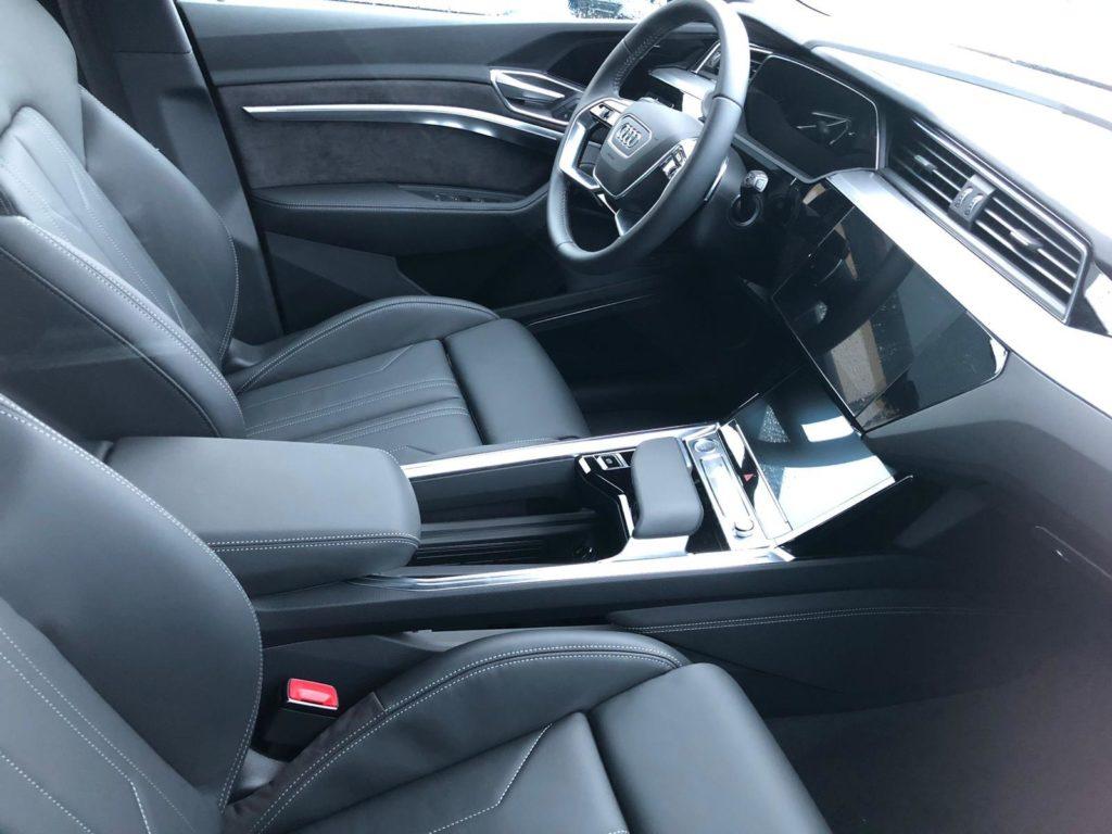 Innenraum des Audi e-tron