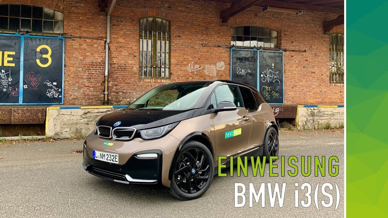 bmw i3 i3s einf hrung in bedienung kurzanleitung nextmove. Black Bedroom Furniture Sets. Home Design Ideas