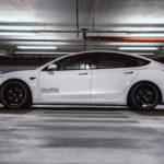 Getuntes Tesla Model 3 aus der nextmove-Flotte - Fahrwerk
