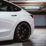 Getuntes Tesla Model 3 Hinterräder