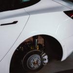 Getuntes Tesla Model 3 aus der nextmove-Flotte - Räderwechsel