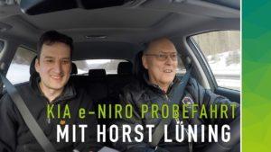 Horst Lüning und Stefan Moeller fahren Kia e-niro nextmove