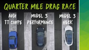 netmove Tesal Model 3 Quarter Mile